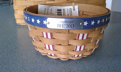 Longaberger 2013 Bee Basket Ready to ship NEW with tags