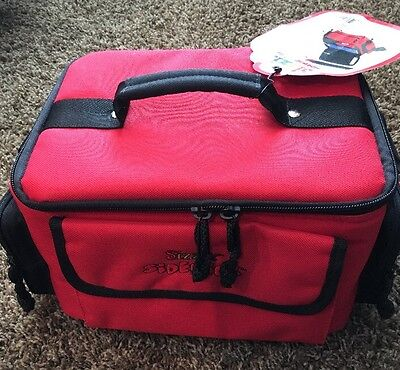NEw sizzix Sidekick Red & Black Carrying Tote Bag w/ Shoulder Strap