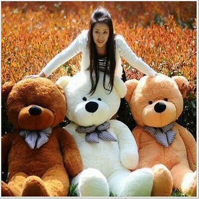 10 Styles 200cm Big Huge Teddy Bear Plush Stuffed Soft Toys doll kids Xmas Gift