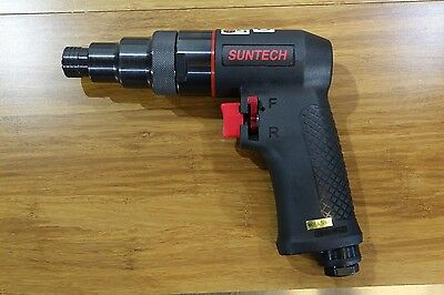 "Suntech Positive Clutch Pneumatic Air Screwdriver Screw Gun 1/4"" 1800 RPM"