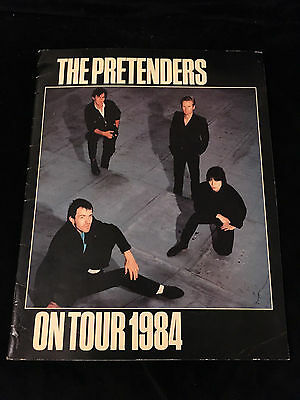 The Pretenders-Learning To Crawl Tour-Concert Program-1984