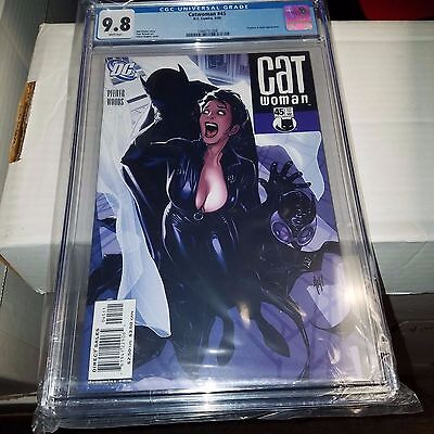 Catwoman #45, Great Adam Hughes Cover, CGC Graded 9.8
