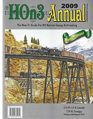 HOn3 ANNUAL 2009 - How-To Guide For HO Narrow Gauge (NEW BOOK -- PREMIER ISSUE)