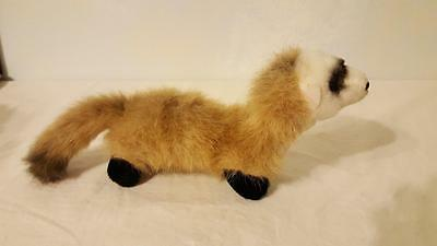 "Plush Ranger Rick 13"" Weasel Ferret By Douglas-Realistic-Animals At Risk-Nationa"