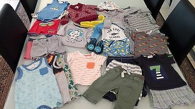 Baby Boy Clothes, 000 Size Bundle, 30+ Item, Great Condition, Quality Brands $40