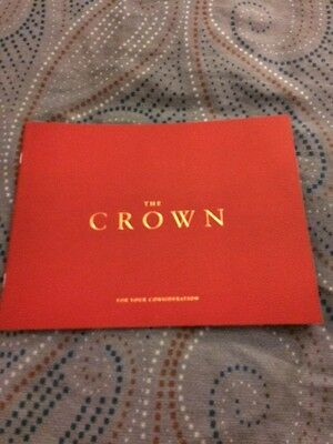 The Crown Netflix For Your Consideration Emmy Booklet John Lithgow Claire Foy