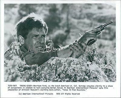 1978 Force 10 from Navarone Original Press Photo Harrison Ford