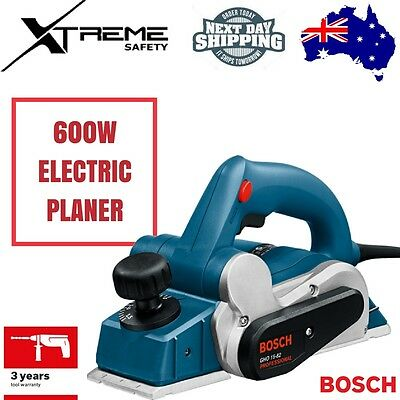 New Bosch Electric Planer 600W With Dust Bag