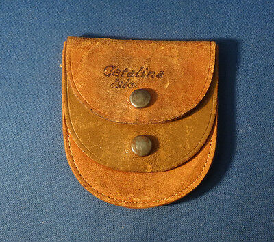Early Catalina Isle Leather Coin Purse Vintage