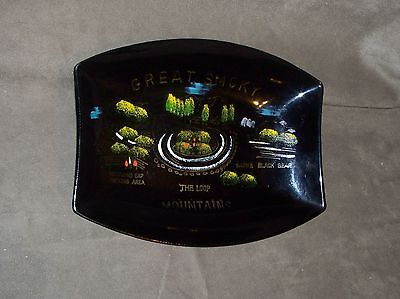 The Loop of the Smoky Mountains souvenir plastic tray, touring, FREE SHIPPING