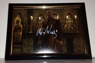 Doctor Strange Hand Signed By Mads Mikkelsen With Coa - Framed Autographed 8X10