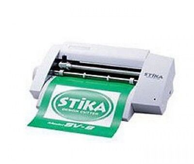 New Roland DG design cutter STIKA 8 SV-8 Create Colorful Custom Stickers  EMS