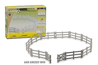 CORRAL FENCE WITH GATE  CollectA # 89471 Livestock Horse Enclosure Farm NIB