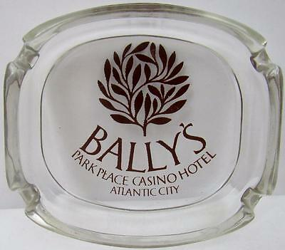 Bally's Park Place Casino Hotel Atlantic City New Jersey Glass Ashtray - Exclnt