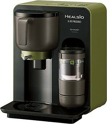SHARP TE-GS10A-B HEALSIO Ocha-Presso Green Tea Maker Japan Model Fast Shipping