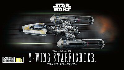 Bandai Star Wars Vehicle Model 005 Y-wing starfighter non scale model kit