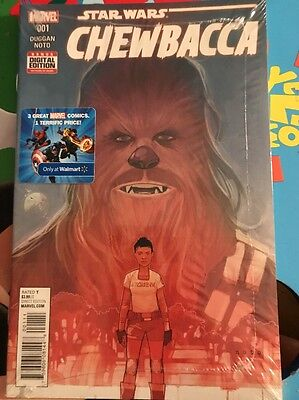 Star Wars Chewbacca #1 Walmart Variant Cover 3 Pack Comic Books Marvel Comics