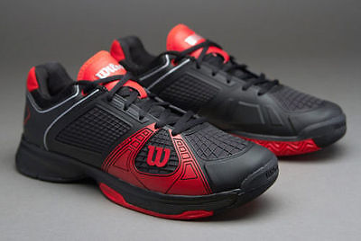 Wilson Rush NGX Mens Tennis Shoes - Size UK 8 - BRAND NEW!!