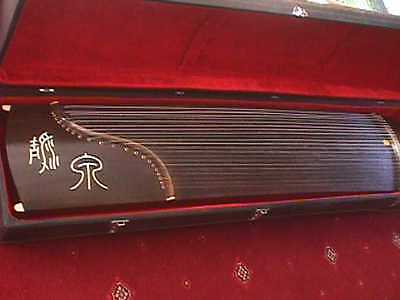 Guzheng (Chinese Zither) 21-string. Complete/extras. w both Soft & Hard Case(s)