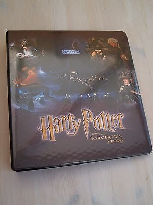 Ultra Rare Harry Potter and the Sorceror's Stone Folder + cards