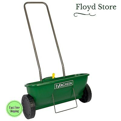 Easy Drop Spreader Plus For Granular Lawn Products And Garden Seed by EverGreen