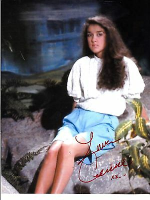 Celine Dion Hand Signed Autograph Photo From The Early Years With Coa