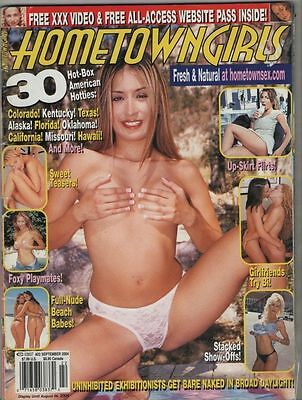 Rivista erotica vintage erotic magazine HomeTown Girls