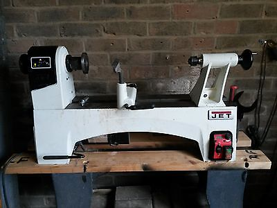 Jet JWL-1221VS 12inch by 24inch Variable Speed Woodturning Lathe 12months old