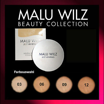 MALU WILZ Just Minerals Powder Foundation (4 Farben Ausw.) 15g / GP146,67€/100g