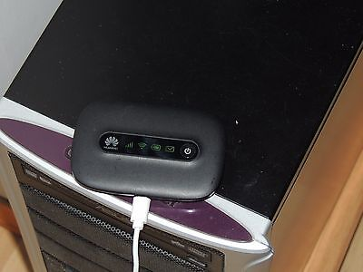 Huawei E5331 MOBILE WiFi WIRELESS Modem Hotspot MOBILE ROUTER Nero