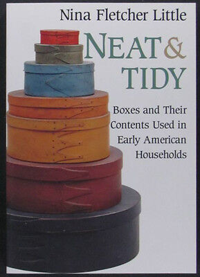 Book: Antique American Boxes - Folk Art Wood Metal Sewing Carved Painted + More!