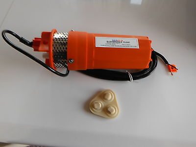 Farm and Ranch Solar Powered 24V Submersible DC  Well Pump parts diaphragm