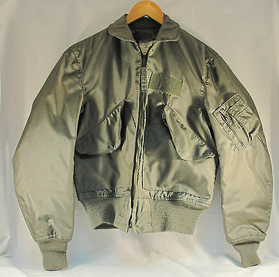 NWOT USAF Green NOMEX Fire Resistant Flyers Jacket CWU-36/P Small