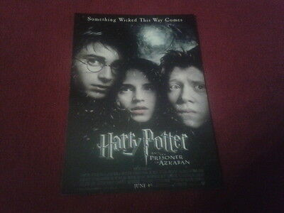 "Carte Postale / Postcard Cinema Affiche Du Film ""harry Potter"" (4)"