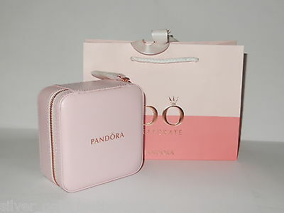 Pandora Limited Edition Mothers Day 2017 Pink & Rose Gold Jewellery Box