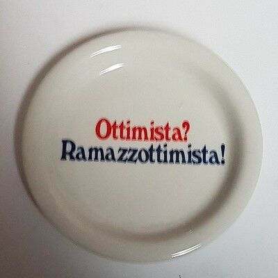 Ashtray Cendrier Posacenere Ramazzotti Hotels Collectable anni 1960