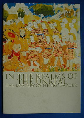 p)●HENRY DARGER' IN THE REALMS OF THE UNREAL]JP movie PROGRAM(PRESSBOOK version)