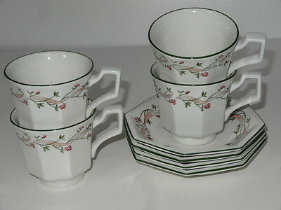 Eternal Beau Tea Set Tea Cups and Saucers by Johnson Brothers