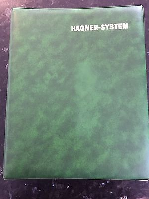Hagner System Album With 13 Double Sided Stock Sheets