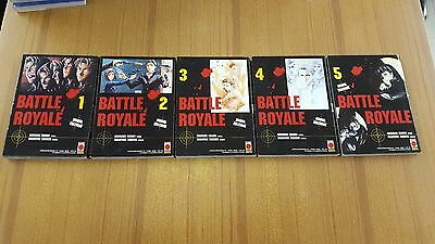 Battle Royale SEQUENZA 1-5 PLANET MANGA PLAY PRESS