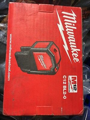 MILWAUKEE battery-2-point Laser C12 BL2 /0 Version Without Battery/Charger