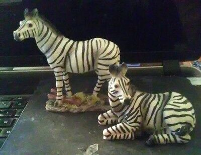 New Pair of Zebra Figurines by MayRich Company