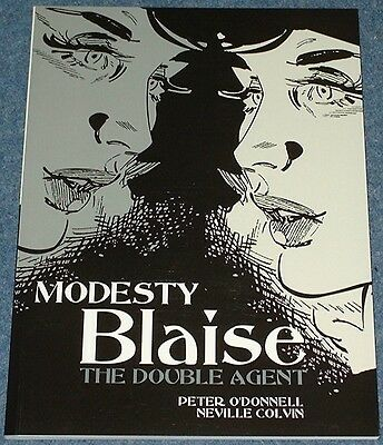 MODESTY BLAISE - THE DOUBLE AGENT - Titan Books - Peter O'Donnell