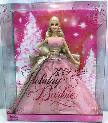 BARBIE HOLIDAY 2009 NRFB - NUOVA - model muse doll collection collezione Mattel