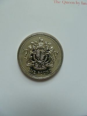1998 Royal Mint / Mail - Royal Beasts £1 One Pound Coin  Fdc.