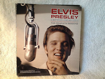 Elvis Presley book and CD: New York - RCA Studio 1 (CD, DVD, book)