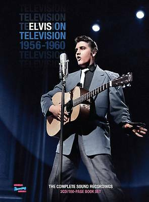Elvis On Television 1956-1960 (2 CD and 100-page book)