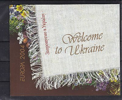 T28227 Ukraine MH 5 booklet gest./used EUROPA CEPT 2014  Michel 100 €