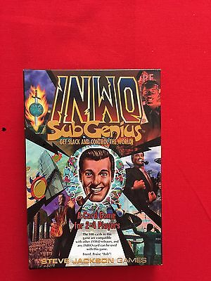 Illuminati INWO Church Of The Subgenius Steve Jackson Games CCG SUPER RARE!