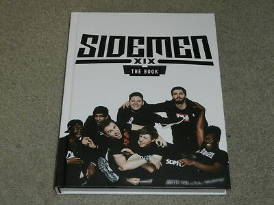 Sidemen The Book - Uk First Edition Hardcover Signed By All Of Them